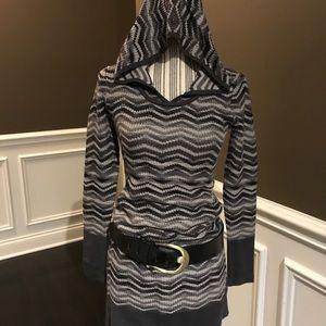 PRANA Hooded Sweater Dress